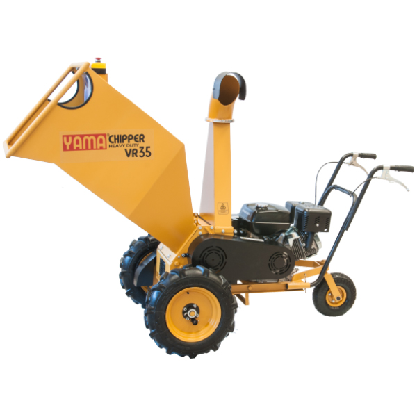 Heavy duty wood chipper